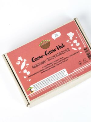 Grow-Grow Nut Nachfüllpaket Asian Festival