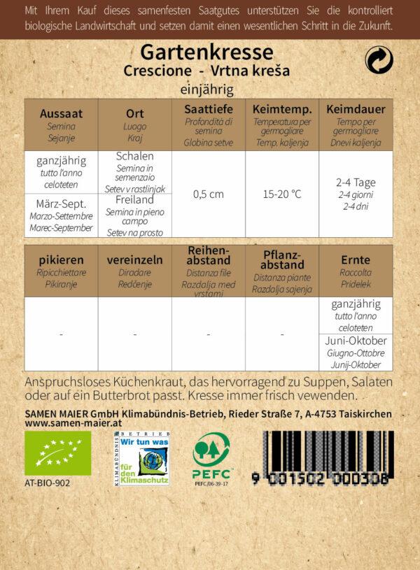 """BIO Beet-Box """"Für Kids"""" von Samen Maier"""