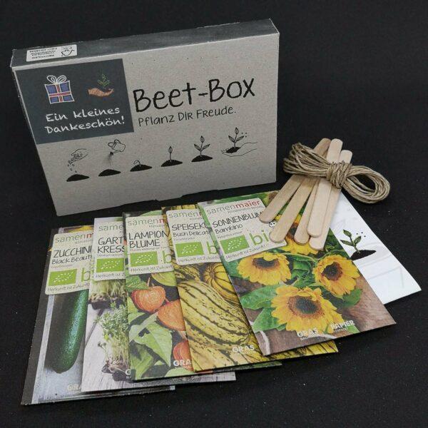 """BIO Beet-Box """"Ein kleines Dankeschön"""" von Samen Maier"""